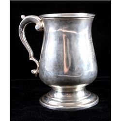 c.1816 Georgian English Sterling Silver Tankard