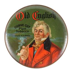 Original Old English Pipe Tobacco Advertising Sign