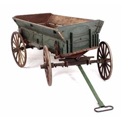 Half Size Goat Pull Wagon from the 19th Century