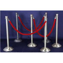 Wilma Theatre Queue Line Stanchions & Ropes