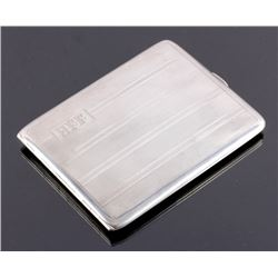 Watrous Sterling Silver Art Deco Cigarette Case