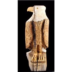 Montana Chainsaw Carved Bald Eagle