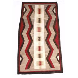 Early Navajo Klagetoh Rug circa 1930 LARGE