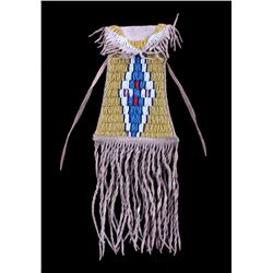 Crow Beaded Strike-A-Lite Bag 20th Century