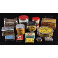 Tobacco & Coffee Advertising Tin Collection