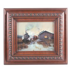 William Bailey Original Oil on Board Painting