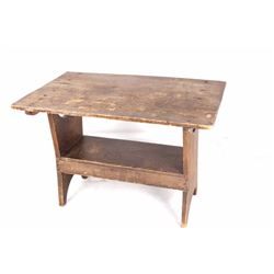 Early American New England Hutch Table