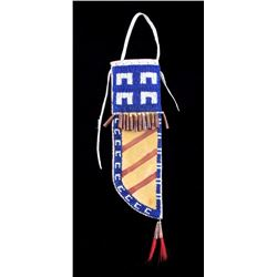 Northern Plains Indian Beaded Knife Scabbard