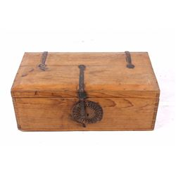 Mexican Colonial Trunk With Stand