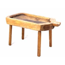 Antique Primitive Cheese Making Table 1900's