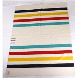 Hudson Bay Company Four Point Trade Wool Blanket