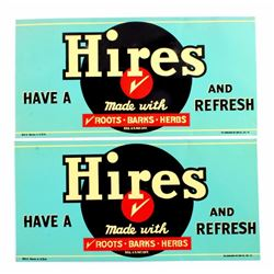Hires Root Beer Advertising Signs