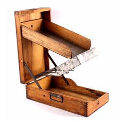 Antique Wooden General Store Nail Sorter