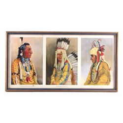 1914 Joseph Scheuerle Blackfeet Print Collection