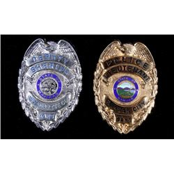 Kansas City, KS Police LT & Sheriff Deputy Badges