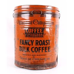 RARE Wood And Company Bulk Coffee Tin