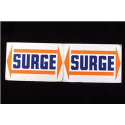 Early Surge Dairy Equipment Advertisement Signs