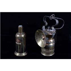 Wolf & Lenk Carbide & Alcohol Mining Lamps