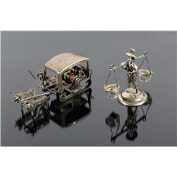 Early Sterling Silver Figurines