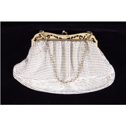 Whiting & Davis Co. Mesh Flapper Purse 1920s