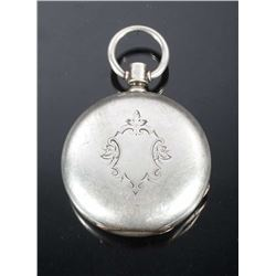 Dueber Coin Silver Pocket Watch Case