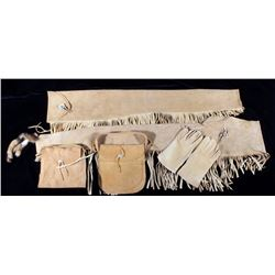 Plains Native American Indian Buckskin Collection