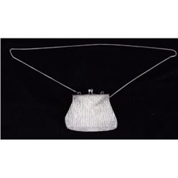 Beaded Flapper Shoulder Bag