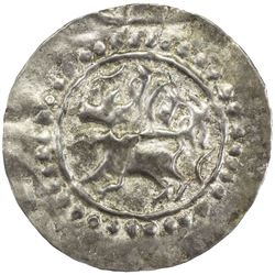 HARIKELA: Anonymous, ca. 10th-11th century, broad AR 30 ratti bracteate (3.58g). VF-EF
