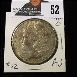 1896 O toned AU  bid $110 in AU 50