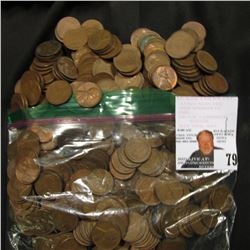 Bag of 400 wheat cents