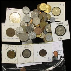 (59???) Mixed World Coins, I never had time to sort any of these.