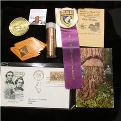 """American Numismatic Association Celebrating 100 Years 1891-1991"" Gold; ""A.N.A. Diamond - Jubilee Co"