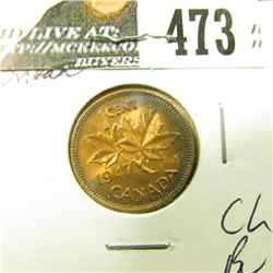 1947 ML Canada Cent, Choice BU.