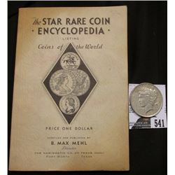 """The Star Rare Coin Encyclopedia Listing Coins of the World"". Compiled and Published B. Max Mehl, Fo"