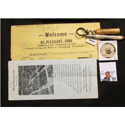 "(1965) Midwest Old Settlers & Threshers Association Inc. (with Map) & brochure; ""National Swine Grow"