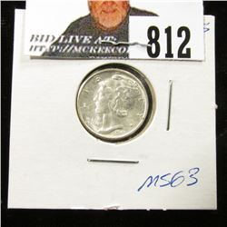 1945 S Normal S Mercury Dime MS-63