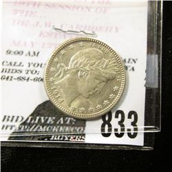 1914 D U.S. Barber Quarter, Uncirculated.