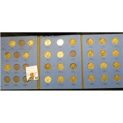 Partial Set of U.S. Standing Liberty Quarters 1917-30 S in a blue Whitman folder, includes: 1917 P &