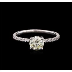 1.00 ctw Diamond Ring - Platinum