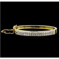 14KT Yellow Gold 2.28 ctw Diamond Bracelet