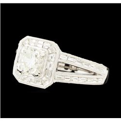 2.89 ctw Diamond Ring - 18KT White Gold