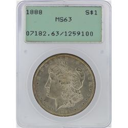1888 PCGS MS63 Morgan Silver Dollar