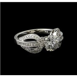 1.97 ctw Diamond Ring - 14KT White Gold