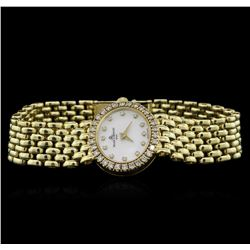 Baume & Mercier 14KT Yellow Gold Diamond Ladies Watch