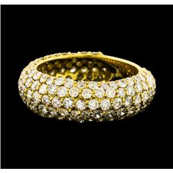 3.50 ctw Diamond Ring - 18KT Yellow Gold