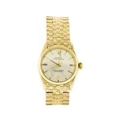Rolex 14KT Yellow Gold Oyster Perpetual Men's Watch