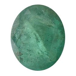 5.54 ctw Oval Emerald Parcel