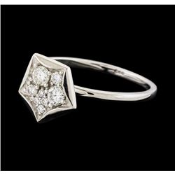 0.26 ctw Diamond Ring - 14KT White Gold