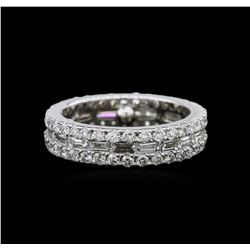 1.94 ctw Diamond Ring - 14KT White Gold