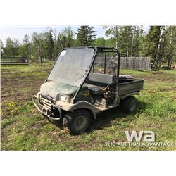KAWASAKI MULE 3010 SIDE BY SIDE ATV